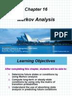 Chap 16 Markov Analysis