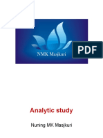 Analytic Stud 2016