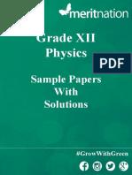 SamplePaper Physics 1486985291