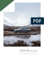 Volvo V90 Cross Country, il listino prezzi