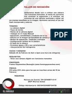 Info Taller 25FEB