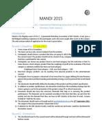 Mandi Rule Book-2015