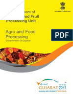 Freeze Dried Fruit Processing Unit