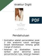 Kontraktur Digiti Slide