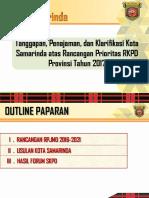 15 Paparan Walikota Samarinda