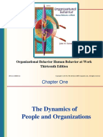 166867465 Chap001 the Dynamics of People and Organizations