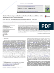 Effect of Chemically Modified Nanofibrillated Cellulose Addition on The