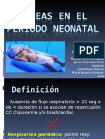 Apneas período neonatal.ppt
