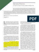 La Enseñanza de Las Matemáticas Financieras - DIAZ, Beatriz Rodríguez; DOMINGUEZ, Eugenio J. Luque; LOPERA, Francisca M.ª García