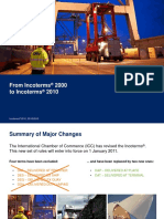 Incoterms Changes 2000 vs 2010