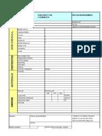 Specification for Flowmeter