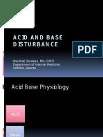 Acid and Base Disturbance