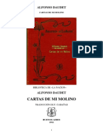 Alfonso Daudet Cartas de Mi Molino