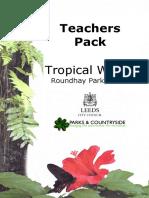 Tropical World Teachers Pack