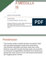 Cedera Medulla Spinalis