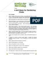 Garden Club Ideas