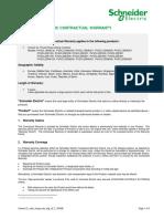 Schneider Conext Cl Contractual Warranty