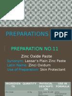 Preparations 11 15