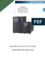 PowerWalker VFI 1000-1500-2000-3000 LCD