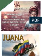 Juana La Aanzadora Anny Dino Escuela