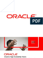 Oracles High Availability Vision Whats New in Oracle Database 11g Release 2