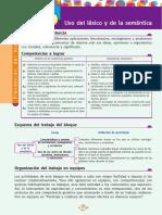 Lexico y Semántica. Unidad 10