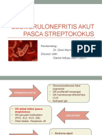 Referat Glomerulonefritis Akut Pasca Streptokokus Ppt