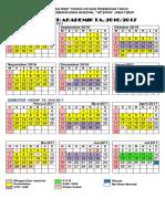 Kalender Akademik 2016 2017