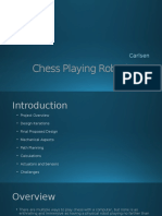 Chess Playing Robotic Arm PPt