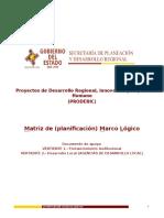 MATRIZ MARCO LOGICO                        Anexo E.doc