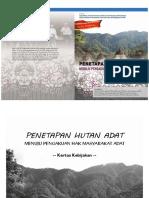 Kertas Kebijakan Penetapan Hutan Adat