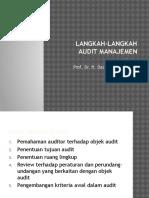Langkah Langkah Audit Manajemen