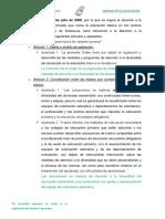 Legislación. Educación Infantil Andalucía AT