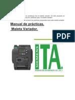 Manual Prácticas Variador SINAMICS V20