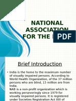 National Association for the Blind