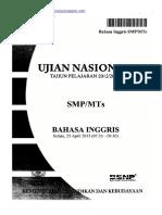 Soal toefl pdf