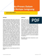TECHNOLOGY Bahan Ko-Proses Pada Metode Kempa Langsung