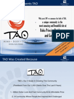 TAO LTA Presentation