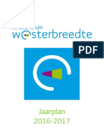 jaarplan 2016-2017 kindcentrum westerbreedte
