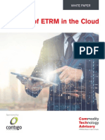The Era of ETRM in the Cloud