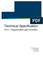 TS12 - Programmable Logic Controllers