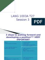 T27 Session 3