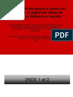 Exposition Virtuelle - Société Présentation