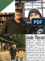Denis Vincent du Québec - hommes d'affaires canadien