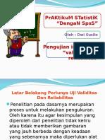 Bab III Validitas Dan Reliabilitas 2o14