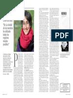 Entrevista con Elena Mendoza