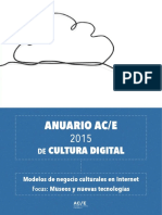 Anuario Ace de Cultura Digital 2015