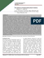 IJSRM-e-Promotion- A Revolution in Technical Education Evolution