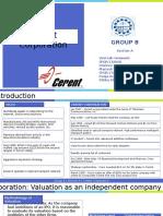 Cerent Corporation_Sec A_Group 8