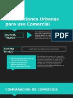 Habilitaciones Urbanas Para Comercio e Industria
